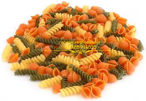 پخش عمده انواع ماکارونی فرمی در بازار